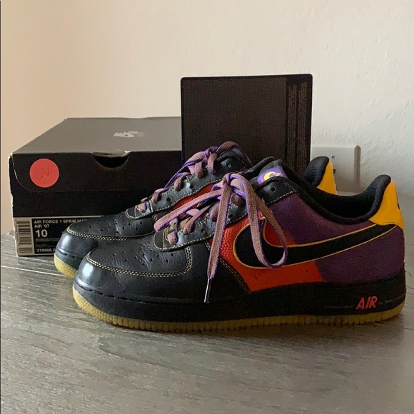 Limited Edition Phoenix Suns Airforce Ones